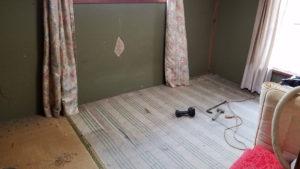 山梨県南都留郡で、タンス、ベッドなどの回収2