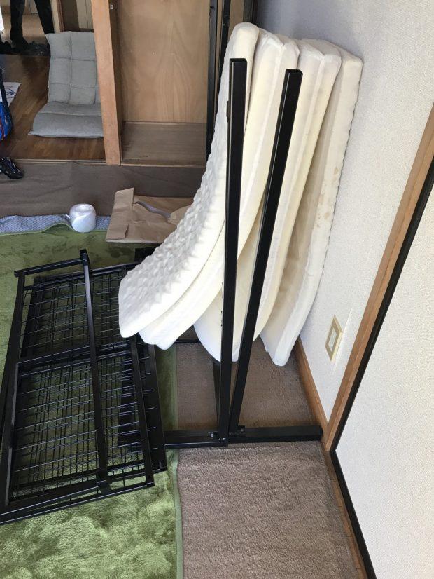 【甲府市武田】お引っ越しに伴う不用品の回収☆処分に困っていた不用品をまとめて回収しご満足いただけました!