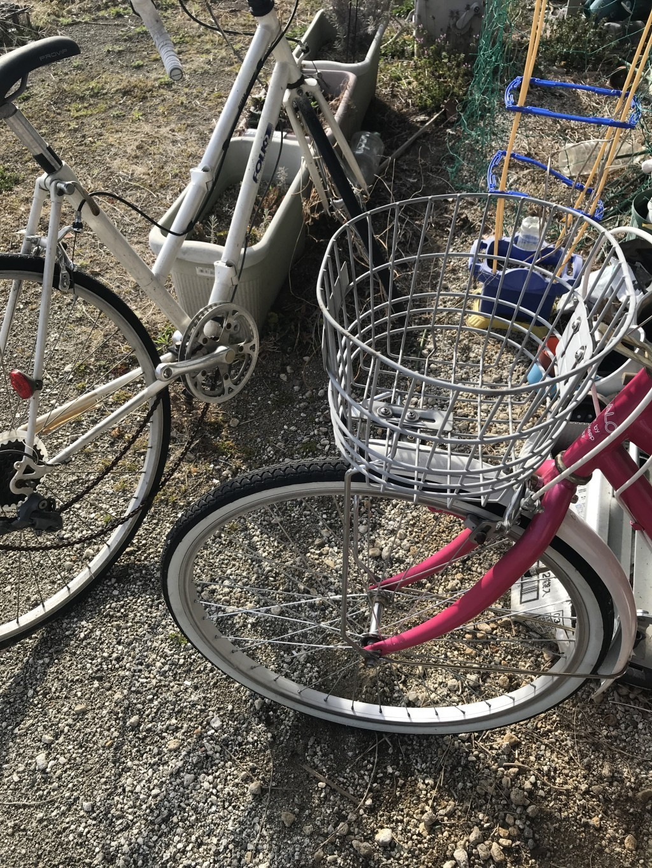 【笛吹市春日居町】自転車3台の出張回収・処分のご依頼 お客様の声