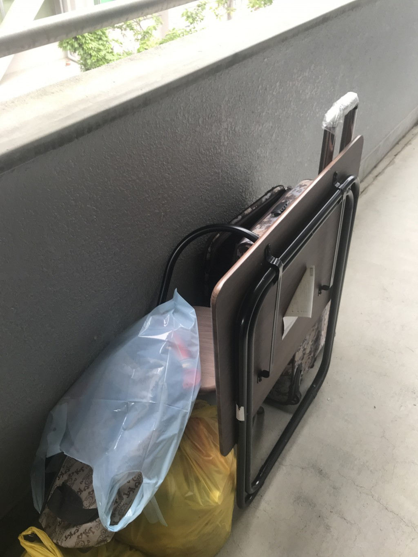 【甲府市宮前町】洗濯機や袋ごみの出張回収・処分ご依頼 お客様の声