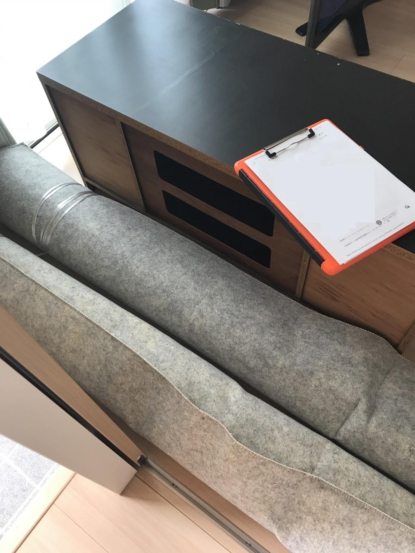 【甲斐市】テレビ台と絨毯の出張不用品回収・処分ご依頼 お客様の声