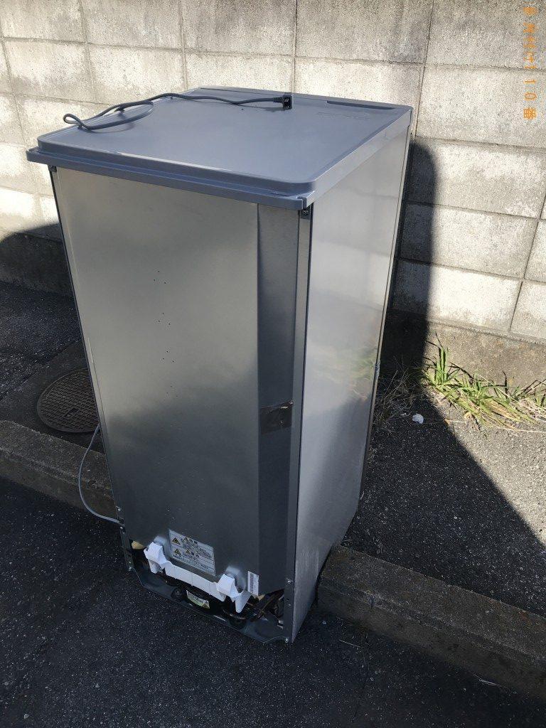 【甲府市】冷蔵庫1台の出張回収処分ご依頼 お客様の声