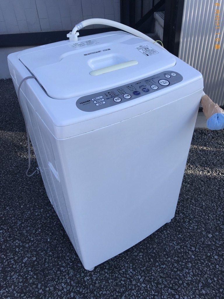 【甲府市寿町】洗濯機1台回収処分ご依頼 お客様の声