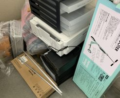 【甲府市】掃除機、キックボード、プリンター等の回収・処分 お客様の声
