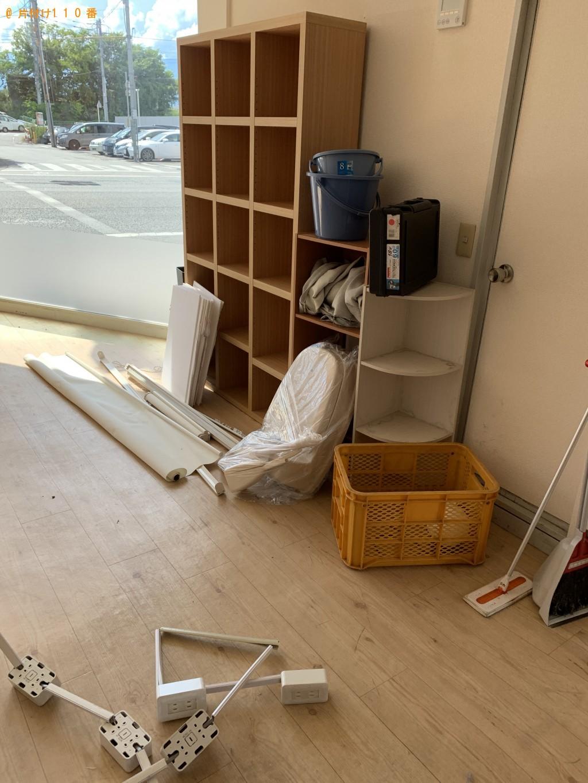【甲府市】エアコン、ローテーブル、PCデスク等の回収・処分 お客様の声