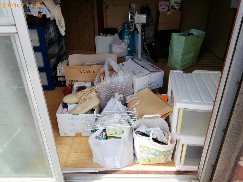 【富士吉田市上暮地】軽トラック1台程度の出張回収・処分ご依頼