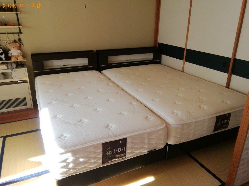 【南都留郡忍野村】ベッド、PCモニター、椅子、スピーカーなどの出張不用品回収・処分ご依頼