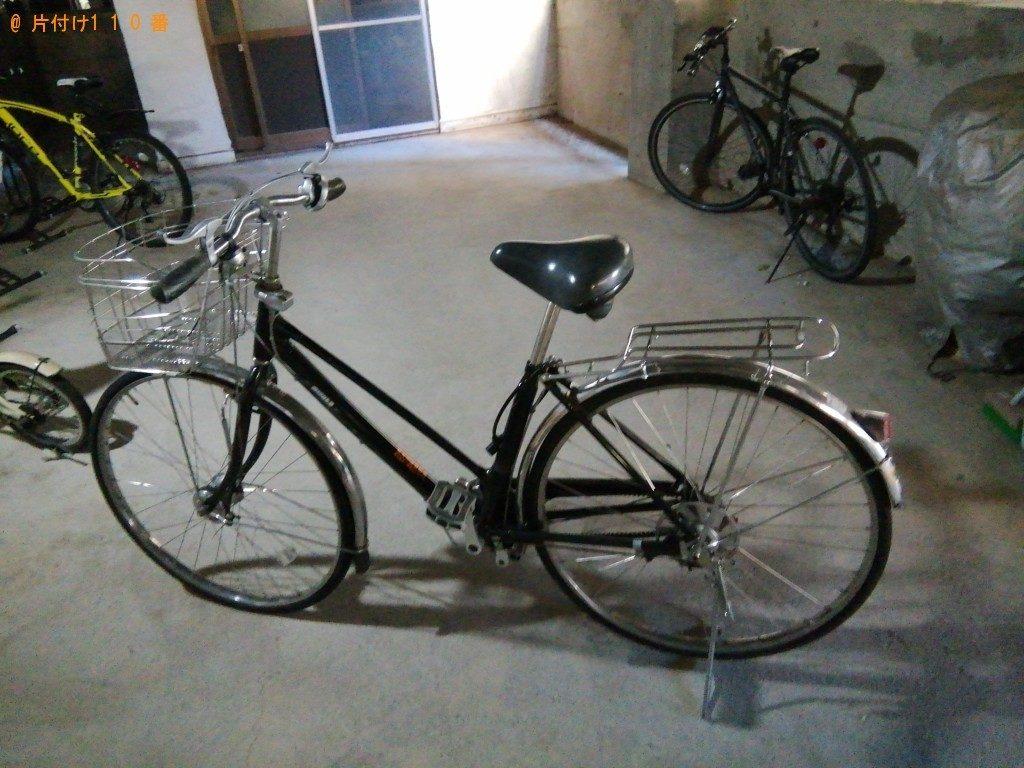 【大月市】自転車とベットの出張不用品回収・処分ご依頼