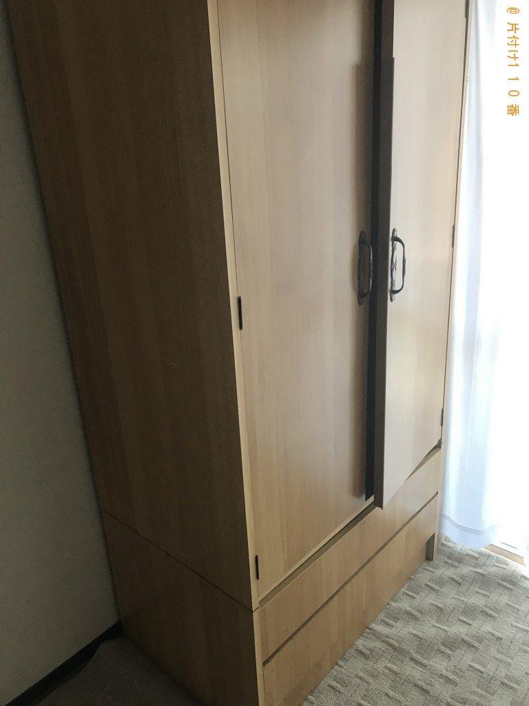 【韮崎市】冷蔵庫、整理タンス、クローゼットの回収・処分ご依頼