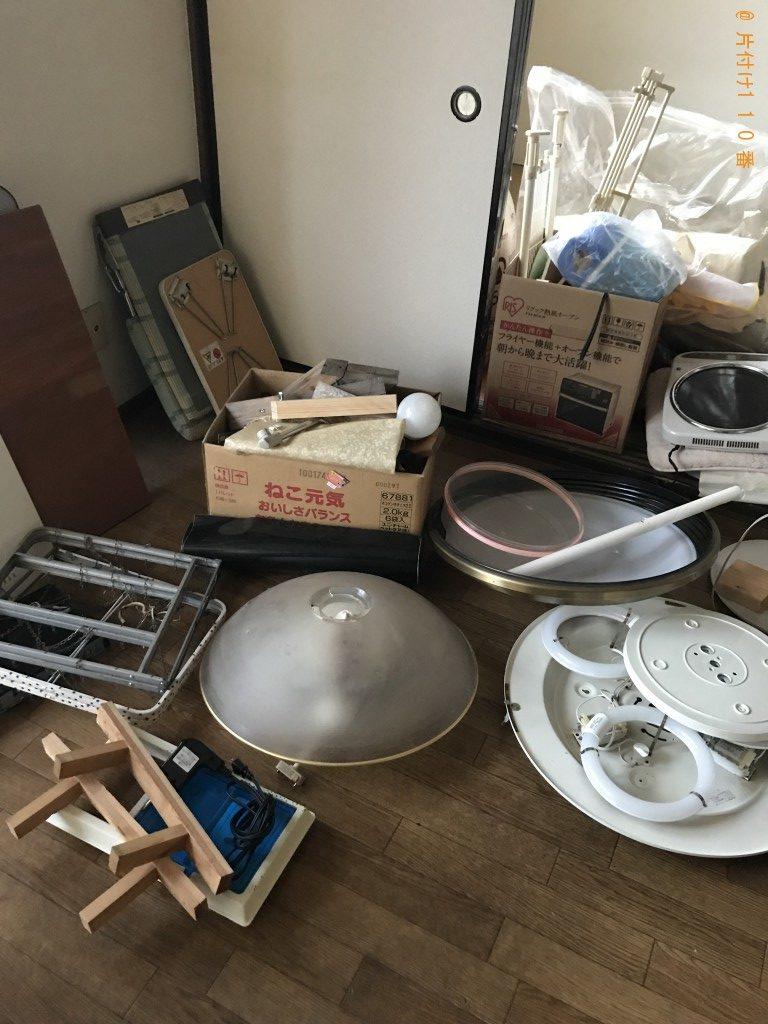 【中巨摩郡昭和町】PCモニターセット、回転いす等の回収・処分