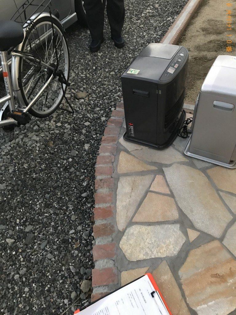【富士川町】ファンヒーター、自転車の回収・処分ご依頼