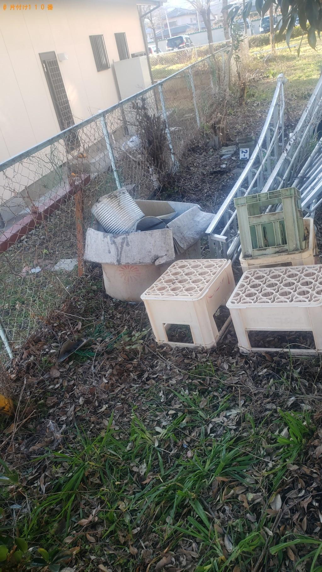【山梨市】電子レンジ、ガスコンロ、ドラム缶の回収・処分ご依頼