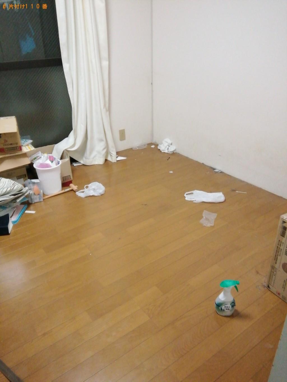 【大月市】洗濯機、ベッド、ダンボール等の回収・処分ご依頼