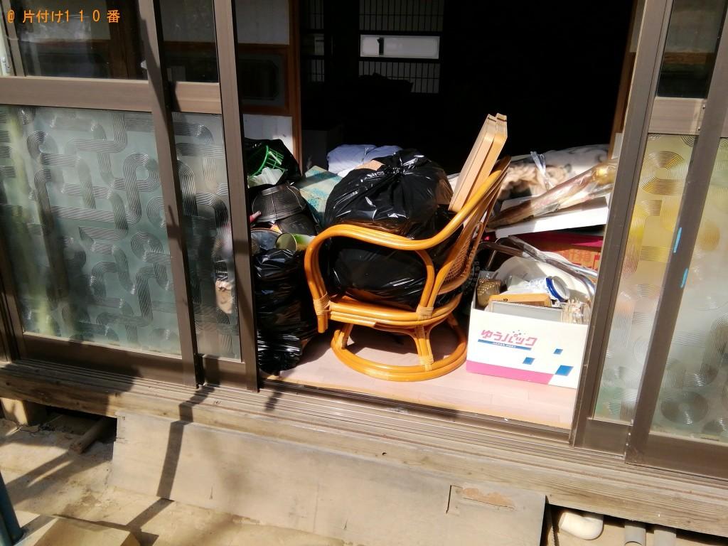 【北都留郡】ミシン、布団、こたつ、分別なし家庭ごみの回収・処分