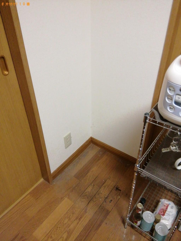 【都留市】冷蔵庫、掃除機、シングルベッドマットレス等の回収・処分