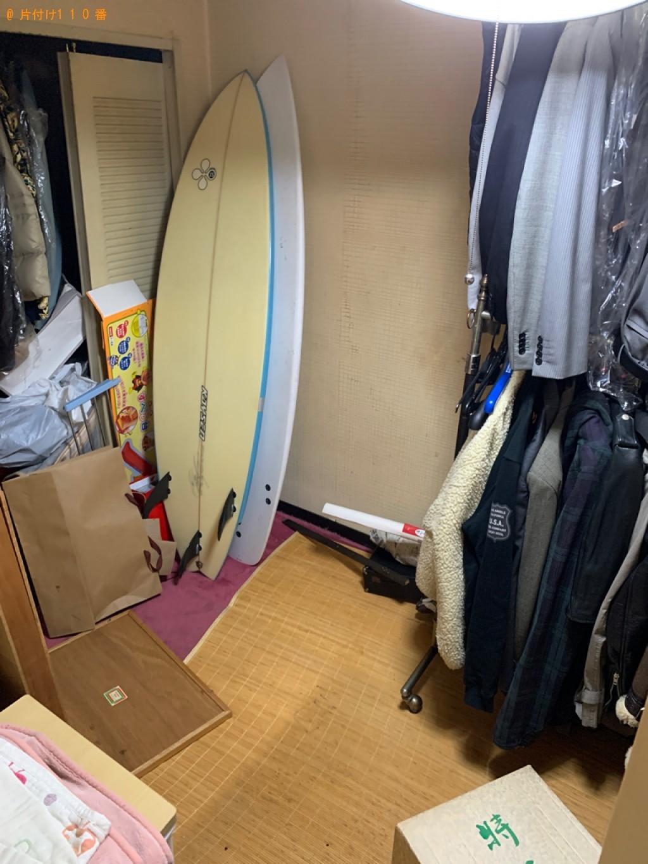 【山梨市】衣類乾燥機、タンス、椅子、下駄箱の回収・処分ご依頼