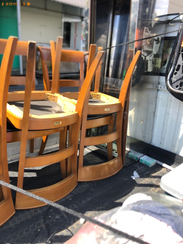 【甲府市】椅子、業務用品の回収・処分ご依頼 お客様の声