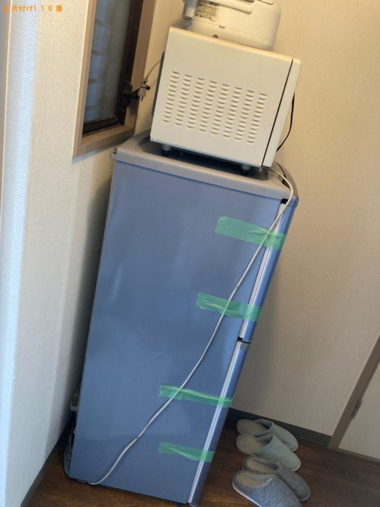 【港区】遺品整理に伴い冷蔵庫、電子レンジ等の回収・処分ご依頼 お客様の声