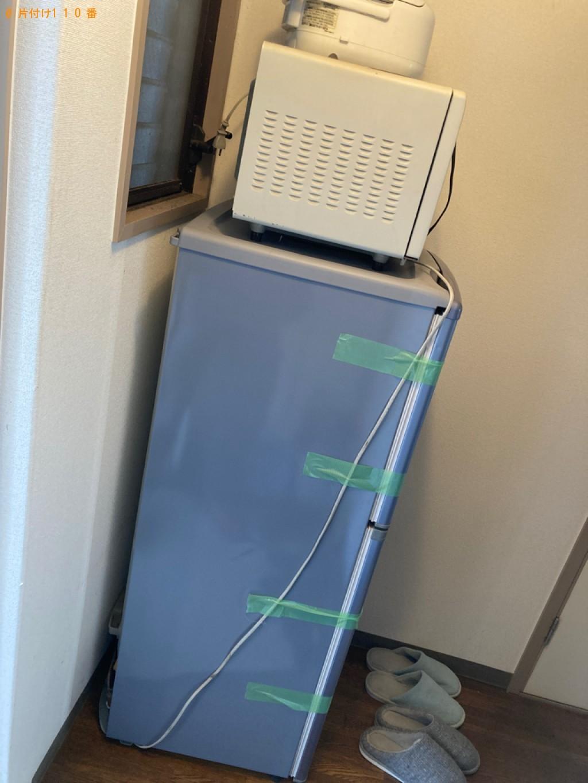 【甲府市】冷蔵庫、電子レンジ等の回収・処分ご依頼 お客様の声