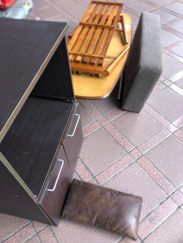 【甲府市】洗濯機、二人掛けソファー、レンジ台の回収・処分ご依頼