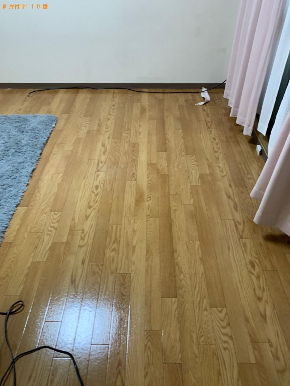 【甲府市】セミダブルマットレス、スーツケース、布団等の回収・処分