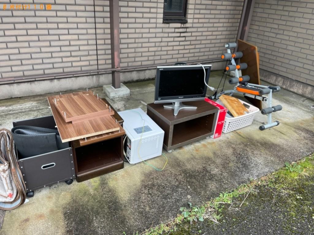 【甲府市】テレビ、パソコン、衣装ケース、ラック等の回収・処分