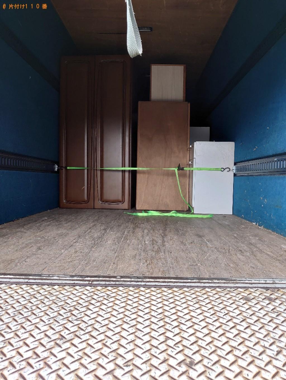 【甲府市】本棚、クローゼット、食器棚等の回収・処分ご依頼