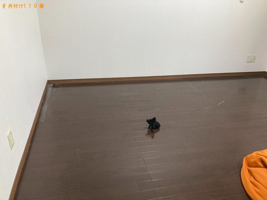 【甲府市】マットレス付きシングルベッド、三人掛けソファー等の回収