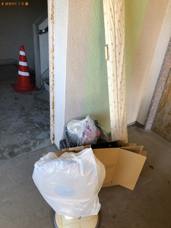 【甲府市】衣装ケース、扇風機、ダンボール等の回収・処分ご依頼