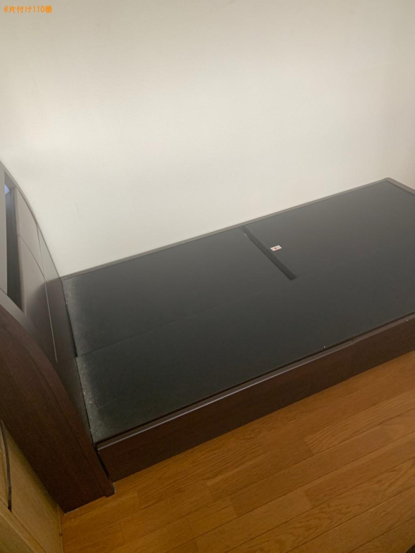 マットレス付きシングルベッドの回収・処分ご依頼 お客様の声