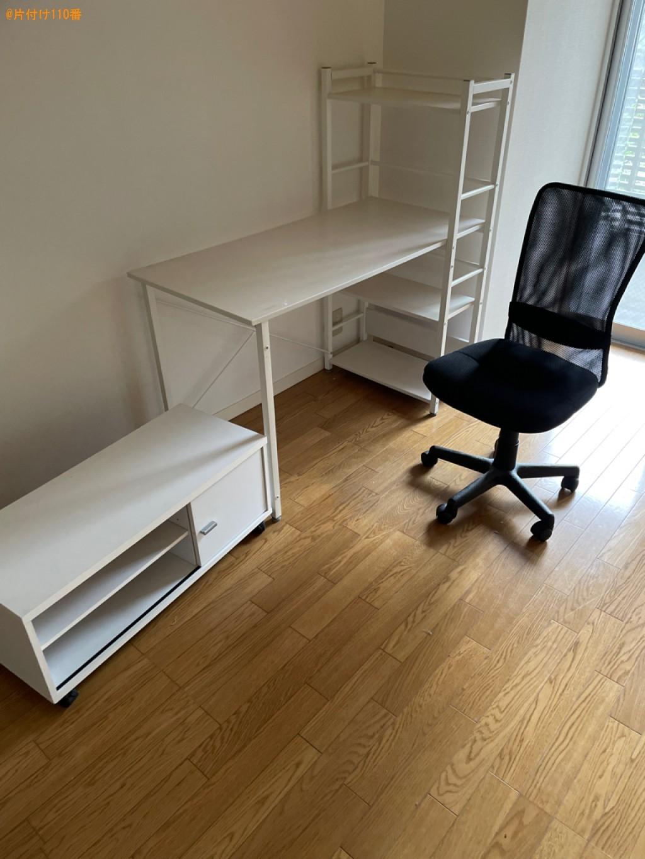 本棚、椅子、テレビ台、メタルラックの回収・処分ご依頼 お客様の声